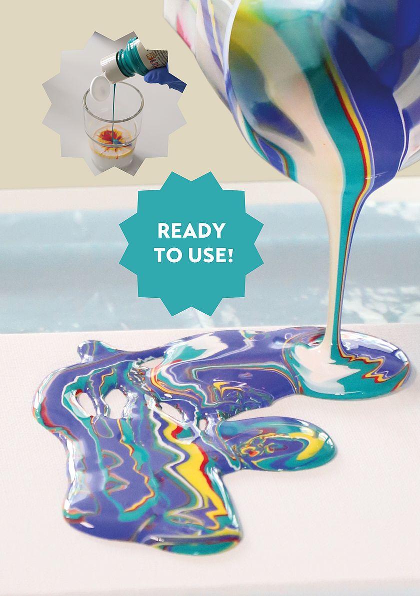 Anwendungsbild Pouring-Technik